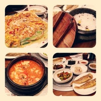 Photo taken at 청담순두부 by Lillian L. on 5/1/2013