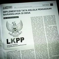 Photo taken at Kawasan Pusat Pemerintahan Provinsi Banten (KP3B) by Massaputro D. on 10/11/2016