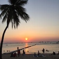Photo taken at Pattaya Beach Front by Monty N. on 4/4/2015
