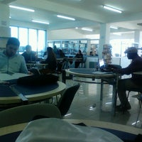 Photo taken at GAU Library by Sezai D. on 3/27/2013
