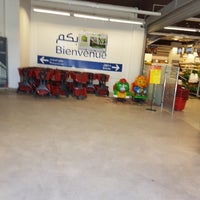 Photo taken at Carrefour Market Ksar Said by Zyed on 4/23/2017