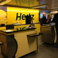 Photo taken at Hertz Schiphol by Josh on 2/11/2013