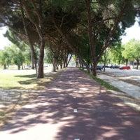 Photo taken at Jardim do Campo Grande by Ivo G. on 5/4/2013