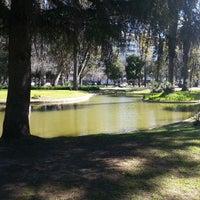 Photo taken at Jardim do Campo Grande by Ivo G. on 3/8/2014