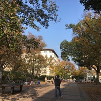Photo taken at Helmholtzplatz by Fab A. on 10/18/2017