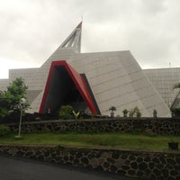 Photo taken at Museum Gunung Api Merapi by Wahyu Krido U. on 1/2/2013