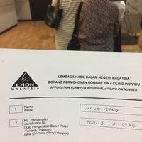 Photo taken at Lembaga Hasil Dalam Negeri (LHDN) by Rebecca Ou L. on 5/4/2017
