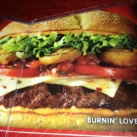 robin burnin love burger