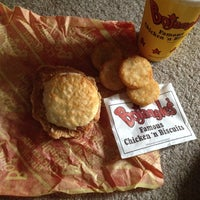 Photo taken at Bojangles' Famous Chicken 'n Biscuits by Skylyr B. on 11/15/2013