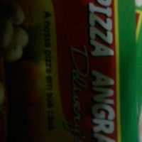Photo taken at Pizzaria Angra Delivey's by Wesley N. on 4/1/2013