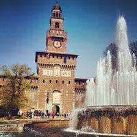 Foto scattata a Castello Sforzesco da Giulio R. il 4/16/2013