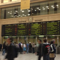 Photo taken at Brussels Central Station by Fiona R. on 5/6/2013