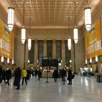 Photo taken at 30th Street Station (ZFV) by Alex D. on 1/4/2013