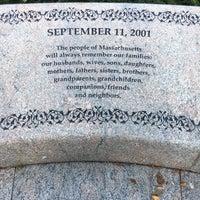 Photo taken at Massachhusetts 9/11/2001 Memorial by Rebecca B. on 8/30/2017