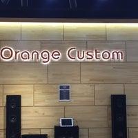 Photo taken at Orange Custom by 예의바른 림유난 on 4/3/2015