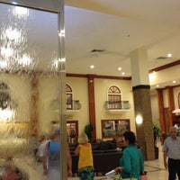 Photo taken at Ramada Plaza Marco Polo Beach Resort by Squalli M. on 6/21/2013