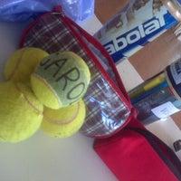 Photo taken at Tennis Club Neuquen by Nicolás A. on 10/18/2013