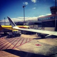 Photo taken at Gran Canaria Airport (LPA) by mario m. on 5/26/2013