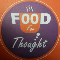 Photo taken at Food for Thought by Tom T. on 4/5/2014