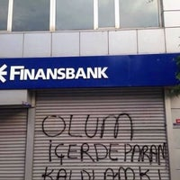 Photo taken at QNB Finansbank by Mehmet Ö. on 1/26/2016