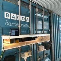 Das Foto wurde bei Bacoa Barceloneta von Haoyang Q. am 4/17/2018 aufgenommen