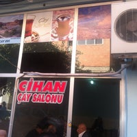 Photo taken at cihan  çay salonu by Cahit K. on 10/16/2013