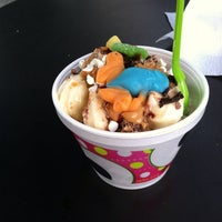 Photo taken at Sweet Frog by Tommy K. on 9/28/2013