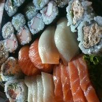 Photo taken at Kumo Sushi by Maiara M. on 3/3/2013