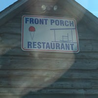 Photo taken at The Front Porch Restaurant by Will B. on 8/16/2017