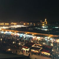 Photo taken at Place Jemaa el-Fna by Oskay S. on 2/16/2013