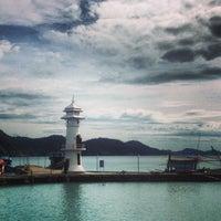 Photo taken at Bang Bao Lighthouse by Alexandr V. on 12/1/2013
