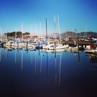 Photo taken at SF Marina Yacht Harbor by :) on 9/22/2013