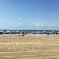 Photo taken at Playa de Levante -Peña Grande by Alex d. on 8/2/2013