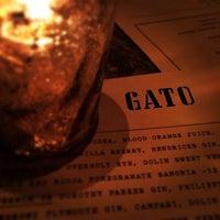 Photo taken at Gato by Jennifer F. on 3/12/2014