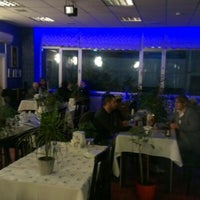 Photo taken at Blue Cafe&Bar Restaurant by Fatma H. on 12/10/2012