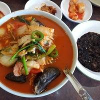 Photo taken at Kangchon by Subi J. on 10/28/2016