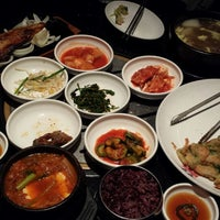 Photo taken at Han Gang Korean Cuisine by Subi J. on 5/13/2015