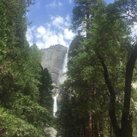 Photo taken at Lower Yosemite Falls by Dan C. on 7/16/2017