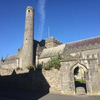 Photo taken at St Canice's Round Tower by Giancarlo I. on 10/20/2016