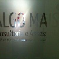 Photo taken at Algo Mais Consultoria e Assessoria by Renato C. on 10/10/2013