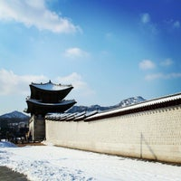 Photo taken at Gwanghwamun by Seoul K. on 2/22/2013