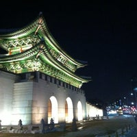 Photo taken at Gwanghwamun by Seoul K. on 1/3/2013
