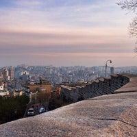 Photo taken at Naksan Park by Seoul K. on 1/18/2013