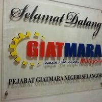 Photo taken at Pejabat GIATMARA Negeri Selangor by Muhammad Hasan B. on 3/25/2013