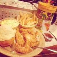Photo taken at Lambert's Cafe by Jordan D. on 4/6/2013