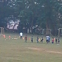 Photo taken at Marist School Football Grounds by Alpha Dara on 1/25/2013