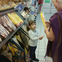 Photo taken at Carrefour Contact Marché Le Crès by Longboard34 D. on 11/5/2014