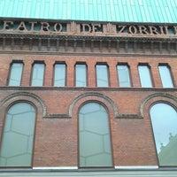 Photo taken at Teatro Zorrilla by Pedro S. on 3/9/2013