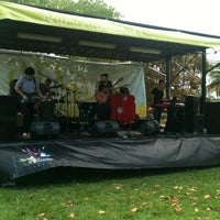 Photo taken at Art In The Park by Gina V. on 4/21/2013
