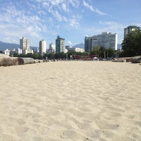 Photo taken at English Bay Beach by Bee V. on 7/7/2013